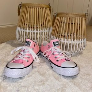 Pink Converse AllStar Shoes Size 6
